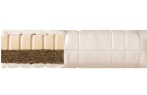 Futon-Matratze Max - Matratzenmaterialien: latexierter Kokos