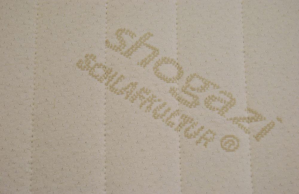 Bezug aus Baumwolle für Matratzen