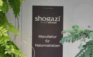 Matratzenhersteller shogazi auf der imm Köln 2017