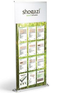Werbemittel shogazi® Naturmatratzenproduktportfolio